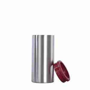 01 EC01-12oz stainless steel hopsulator slim can cooler brumate koozie