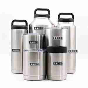 Are any stainless steel tumblers made in USA?
