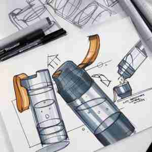 How to made custom design stainless steel bottle