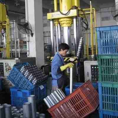 stainless steel bottle shape forming manufacturing process