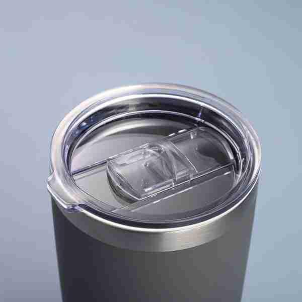 04 Stainless steel tumbler coffee mug with lid 16oz