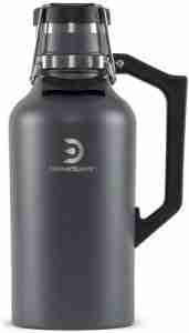 03: DrinkTanks 64 oz Vacuum Insulated Stainless Steel Beer Growler Water Bottle