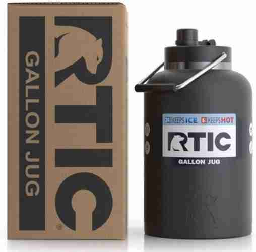 RTIC Gallon Camping Stainless Steel Bottle