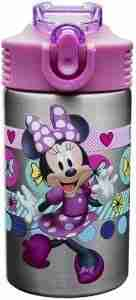 Zak Designs Disney Minnie's Happy Helpers Stainless Steel Water Bottle