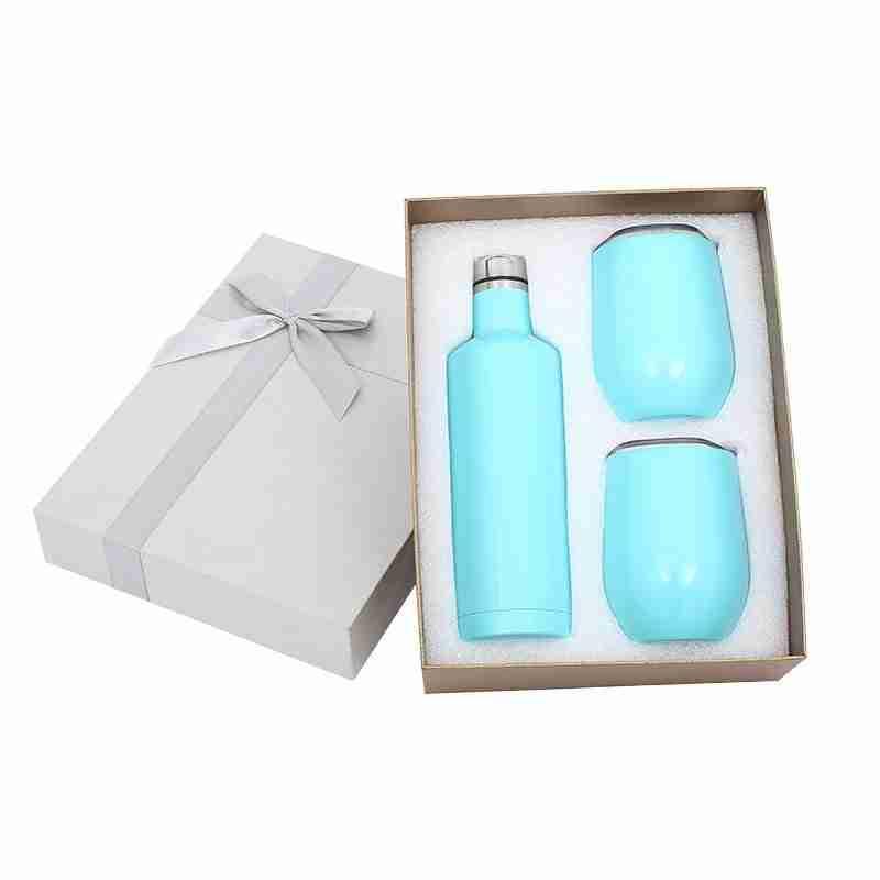Blue water bottle, custom blue color water bottle