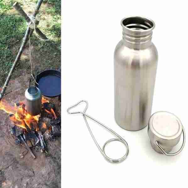 How do stainless steel water bottles work?