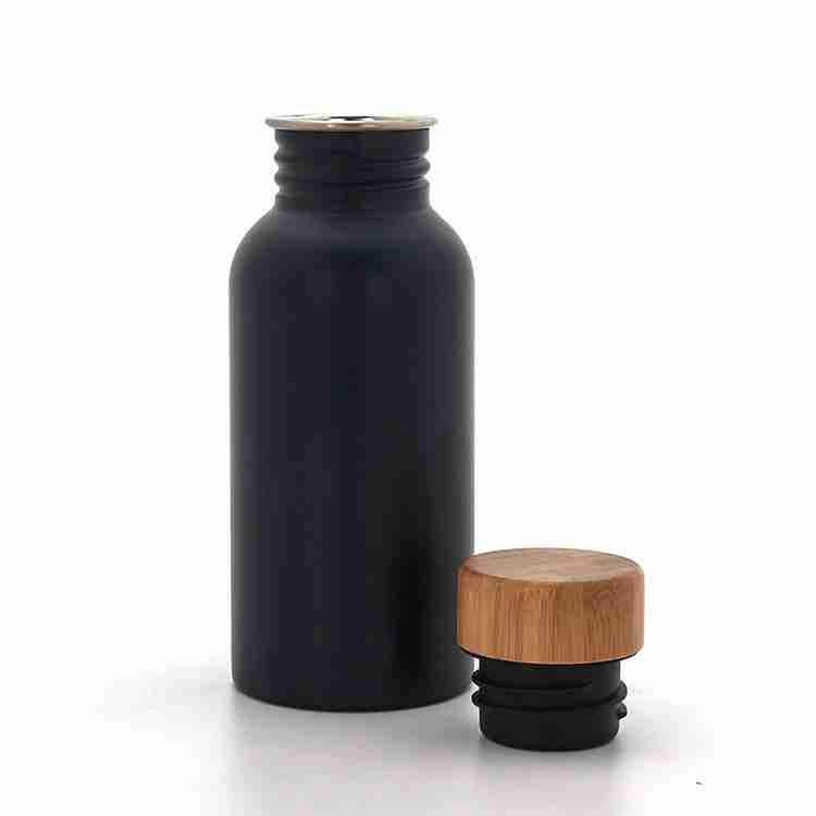 The single wall stainless steel water bottle