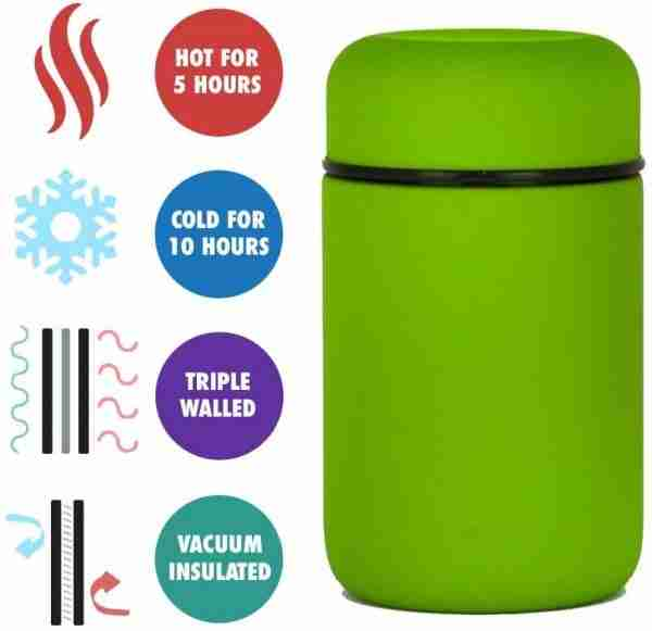 EL02 Vacuum Insulated Stainless Steel Lunch Thermos Food Jar 02