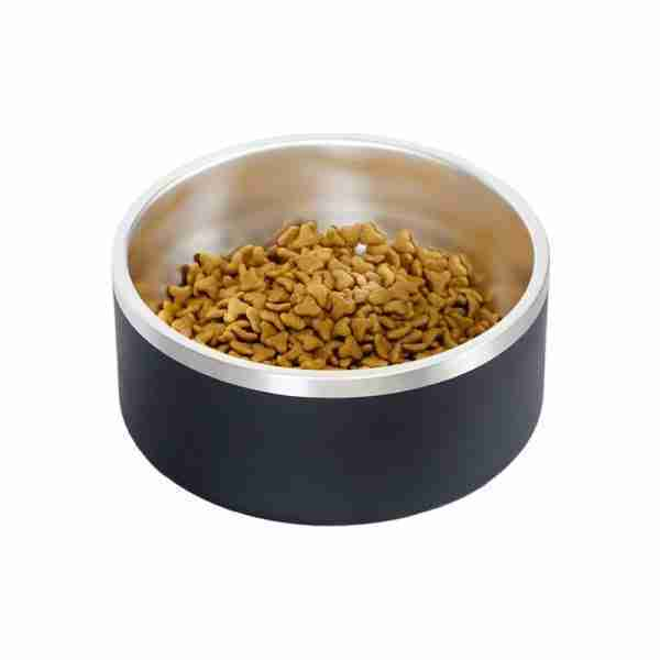 Stainless Steel Double Walls Insulated Bowls Dog Pet