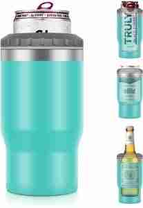 16 oz. Koozie Stainless Steel Insulated Can Cooler ​ 01