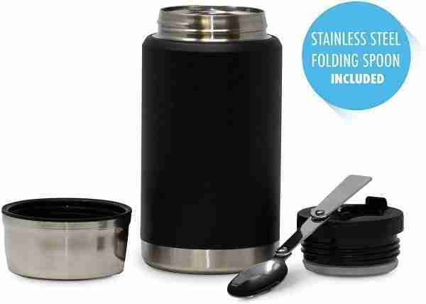 EL01 Vacuum Insulated Stainless Steel Food Thermos Lunch Box 01