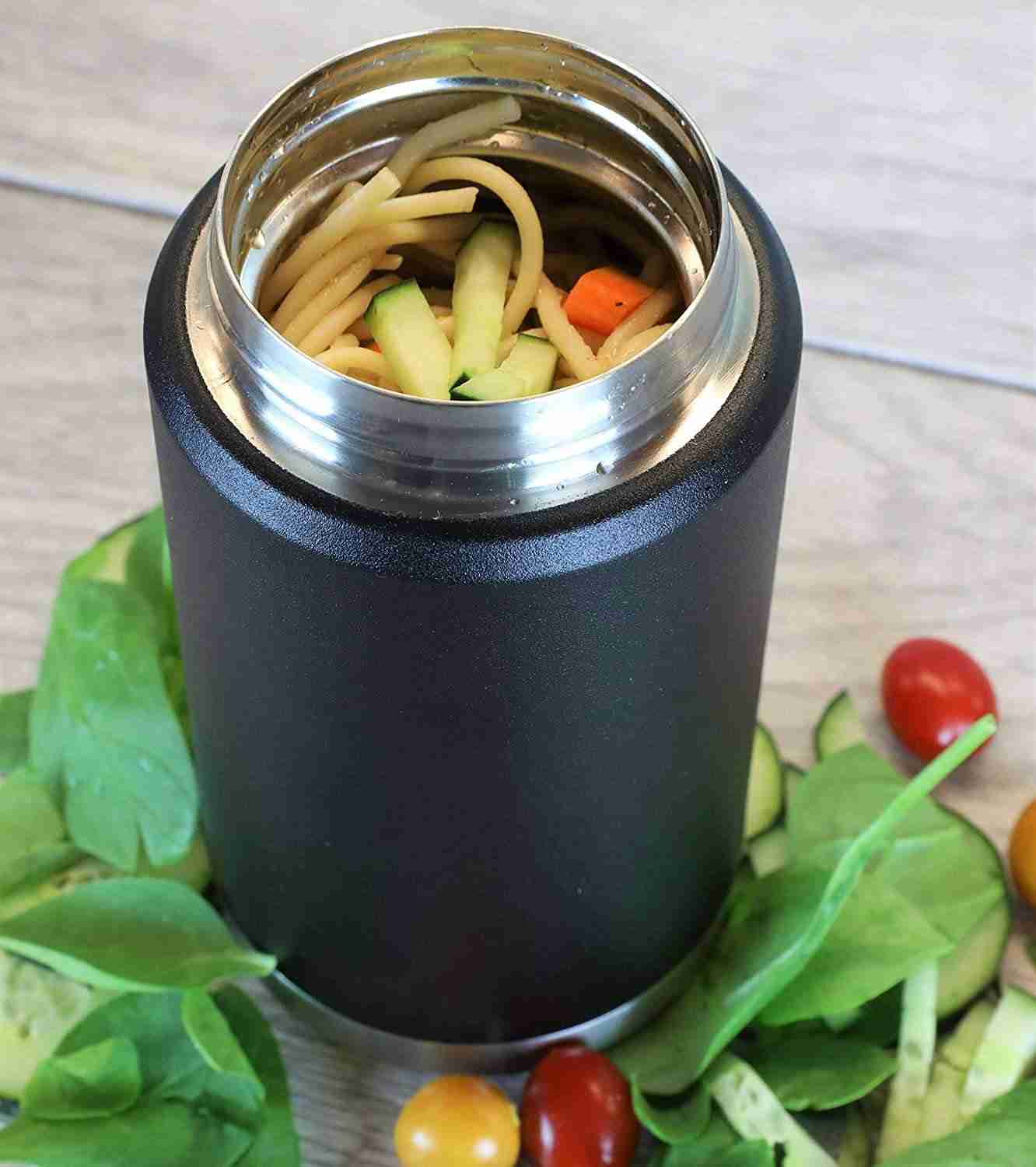 Do stainless steel lunch boxes keep food warm?