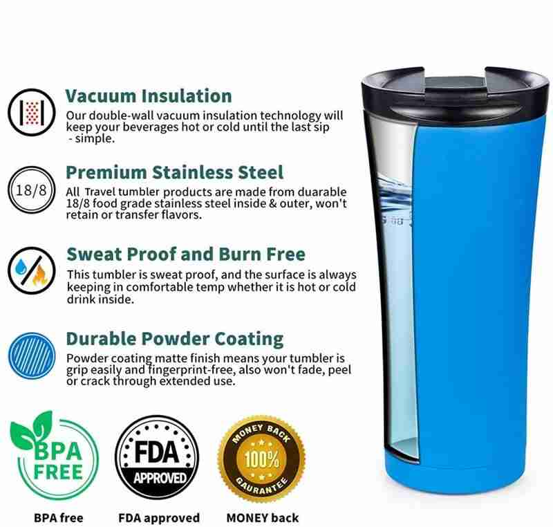 Are stainless steel water bottles safe to drink from?