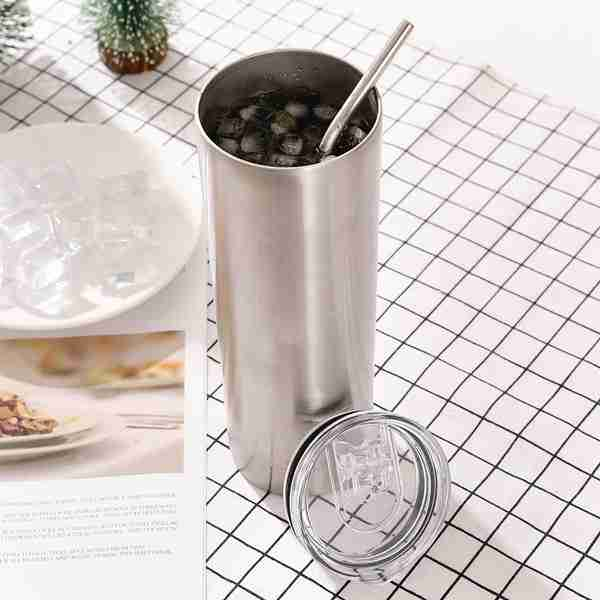03 Double Wall Stainless Steel Vacuum Insulated Travel Mug 20oz