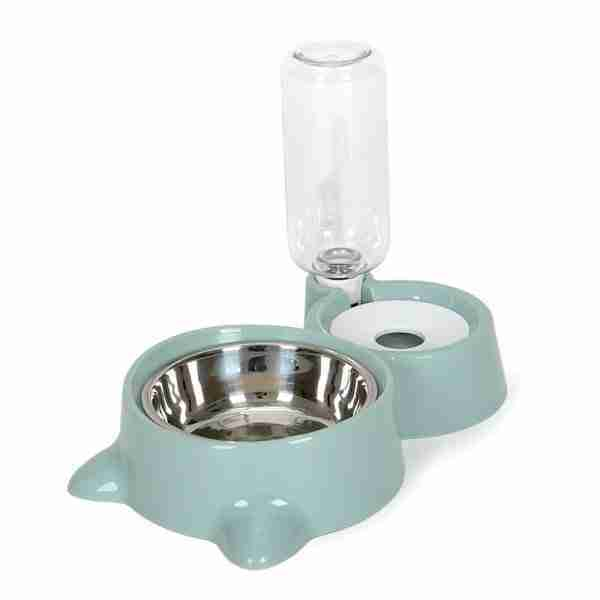 EBL04-Stainless Steel Pet Bowl Feeder & Water Dispenser