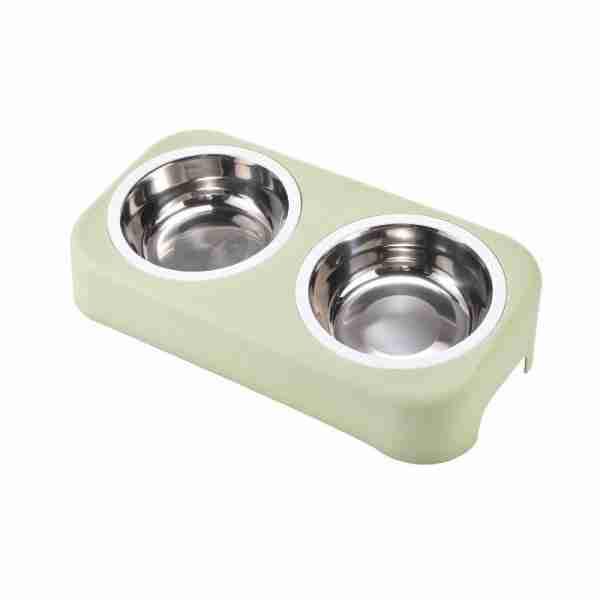 EBL05-Stainless Steel Cat Bowl Feeder Pet Feeding Bowls