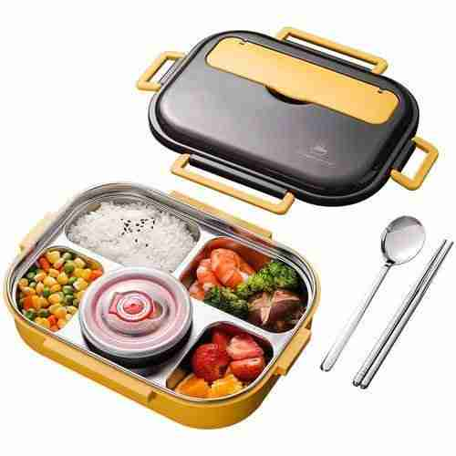 Stainless Steel Lunch Box Food Container Storage