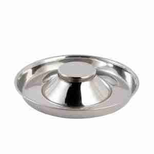 Slow Feed Pet Bowl Stainless Steel Dog Bowl