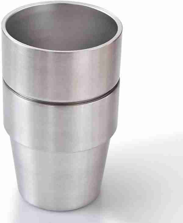 02 ET13-Stackable Stainless Steel cup wine tumbler