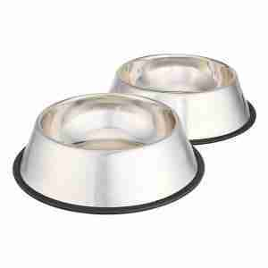 EBL03-Basics Stainless Steel Dog Bowl Water Food Pet Bowl