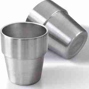 ET13-Stackable Stainless Steel cup wine tumbler