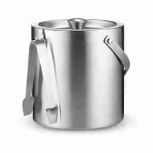 Double-Wall Stainless Steel Insulated Ice Bucket Chilling
