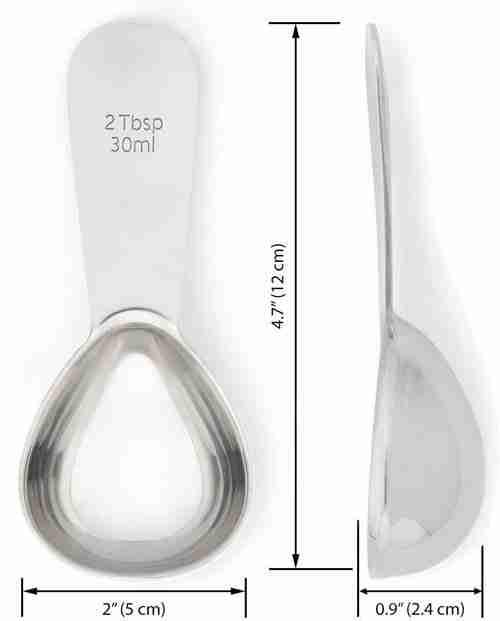 Stainless Steel Coffee Measuring Spoons Coffee Scoop 01