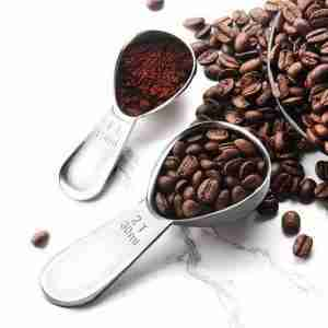 Stainless Steel Coffee Measuring Spoons Coffee Scoop