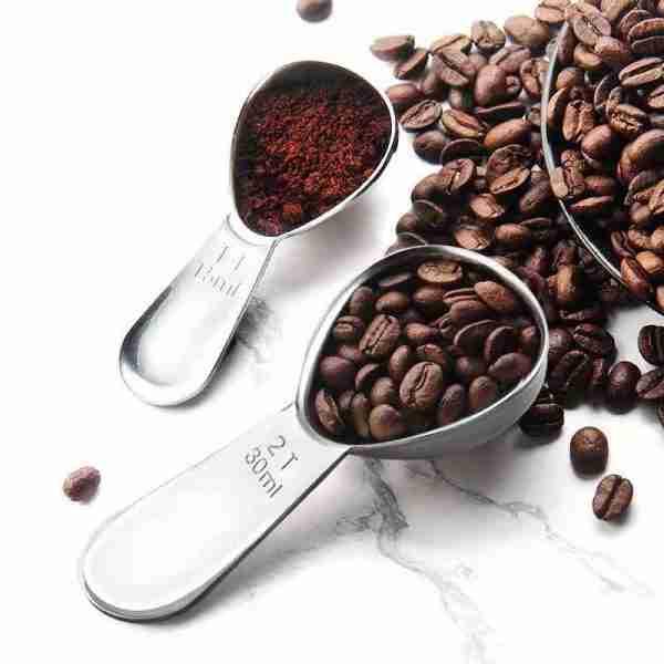 Stainless Steel Coffee Measuring Spoons Coffee Scoop