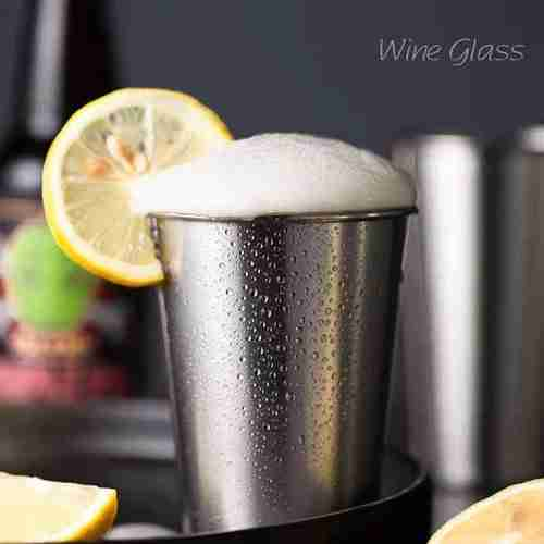 Stainless Steel Whiskey Glasses Shot Cups 01