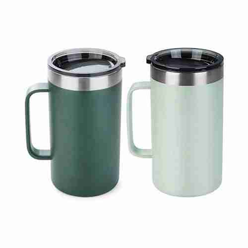 Stainless steel insulated coffee mugs