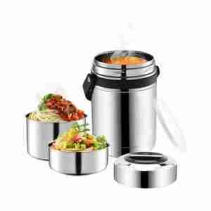 EL06-Stainless Steel Food Thermos Flask for Picnic