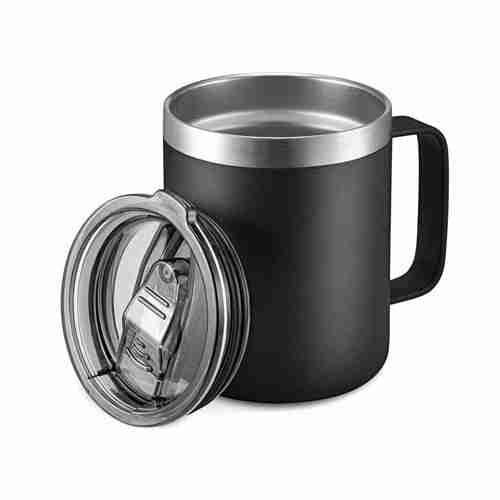 ET17-12oz Stainless Steel Insulated Coffee Mug with Handle