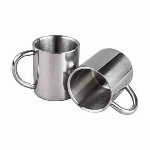 ET22-Double Walled Coffee Mugs Stainless Steel Mugs