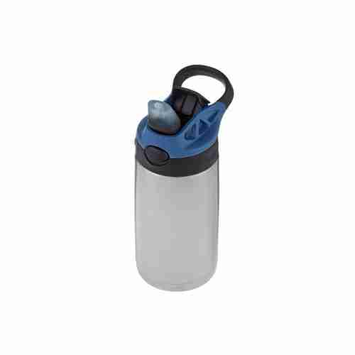 contigo kids stainless steel water bottle with autospout straw 13 oz.