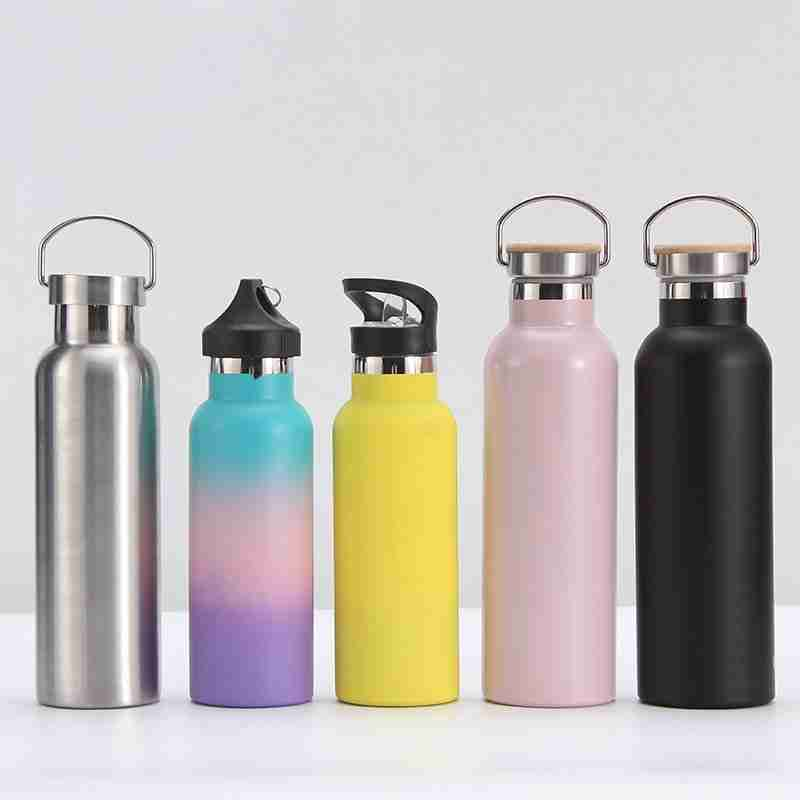 custom insulated water bottle with different colors