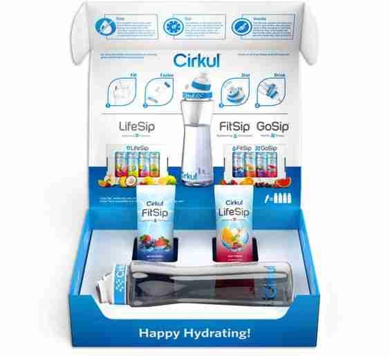 cirkul water bottle