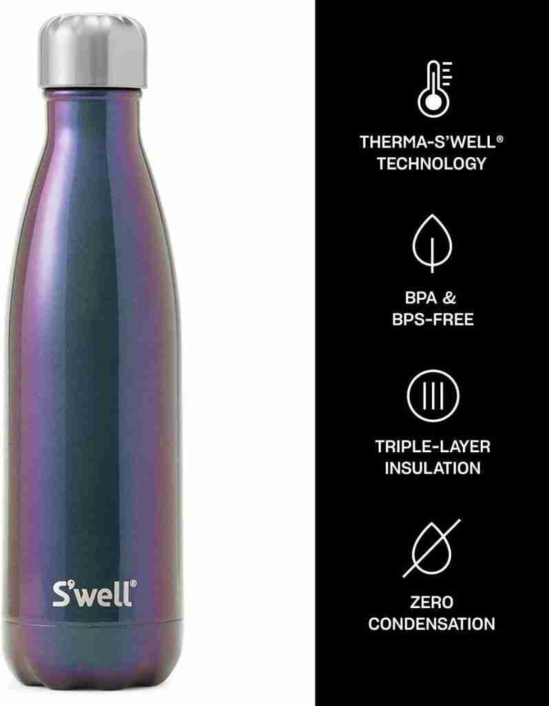 Best overall insulated water bottle: S'well water bottle 17 oz.