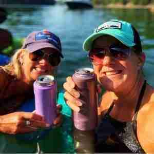 What is metal koozie can cooler