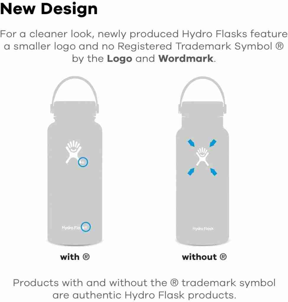 The difference between 1.0 and 2.0 hydro flask
