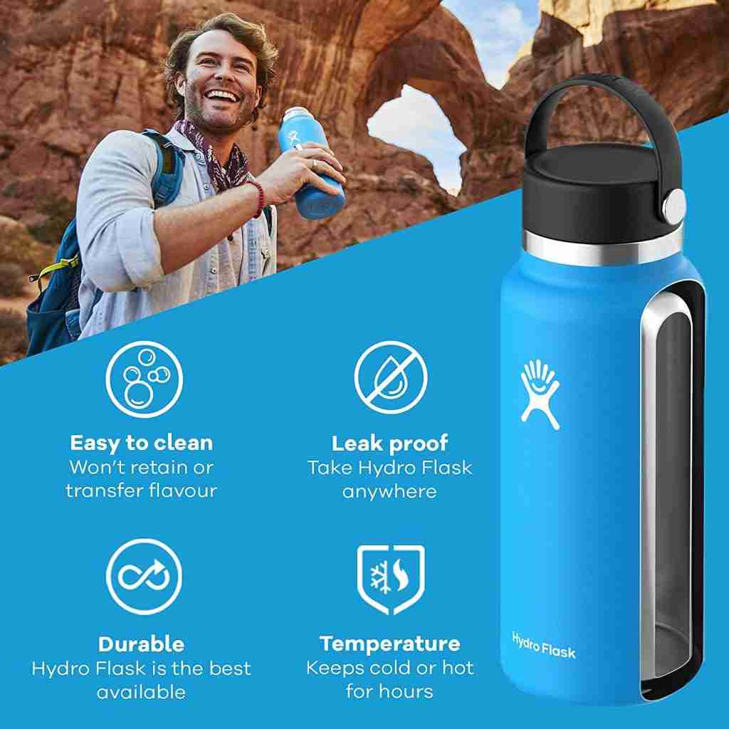 How hydro flask works to keep ice cold 24 hours up