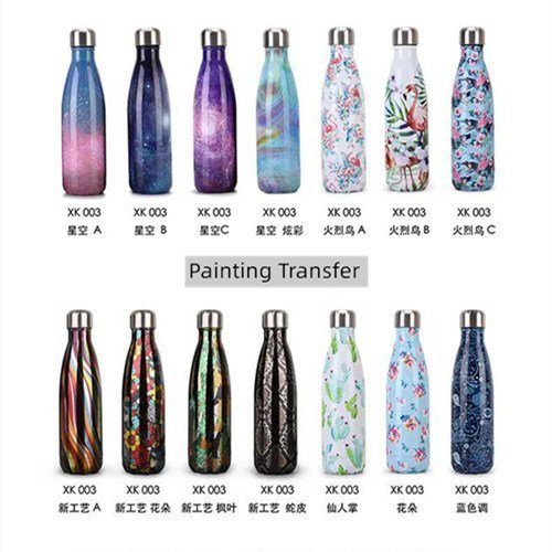 07 Custom decoration for your stainless steel bottle