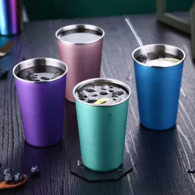 single wall stainless steel bottle tumbler