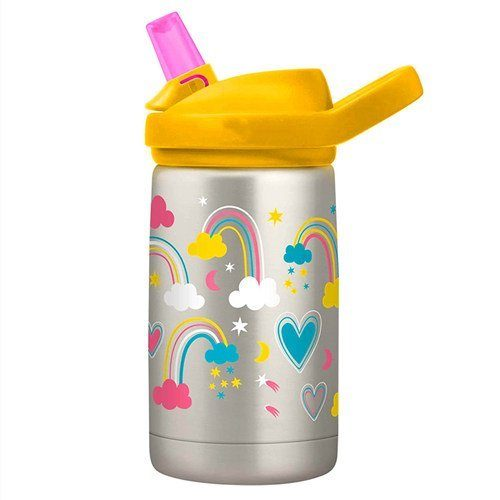 """Finally! A cup my toddler isn't spilling everywhere. I nearly bought this in the beginning of summer, but scoffed at the price (it was higher in target) and picked a cheaper option. I felt like I was buying him a new """"cheap"""" cup every few weeks until I couldn't stand it one more minute. I bought this for my 3yo and loved it so much I went and bought one for myself and both my older kids the next day. I love the silicone bottom, no clanging when they put it down, or wobbling. After two months of every day use, it still looks brand new! Easy to clean, even in the all the nooks and crannies. We only ever put water in it, but so far no funky smell or mildew anywhere. We are """"bottle people"""", everyone in my family has their water bottle that we use all day, every day. My older kids have the 18oz version and just as pleased with the quality of theirs and mine is the 32 oz. I chuck it in my car with no leaks, I'm never afraid to toss my toddlers cup in my bag for fear of leaks. Absolutely worth the money, keeps the water cold, lowers use of single use plastics and with replacement parts available can last years. Buy it for everyone you know!"""